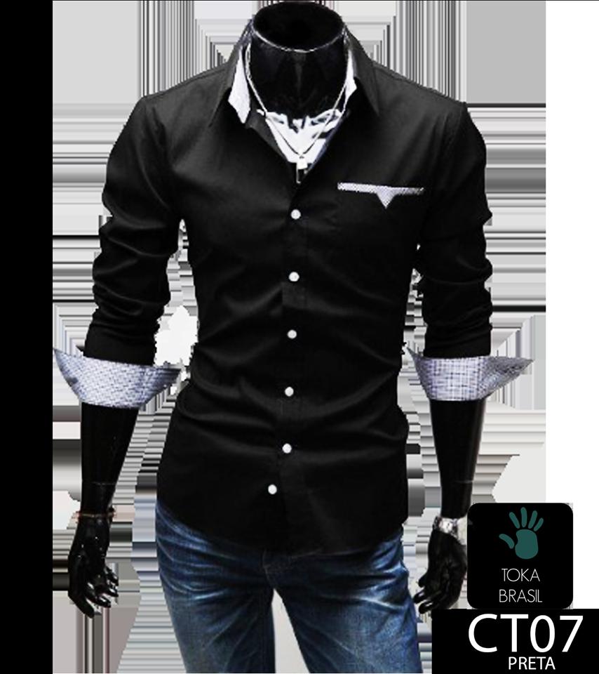631db22519 Camisa Social Slim fit Mod. CT07 – TOKA BRASIL