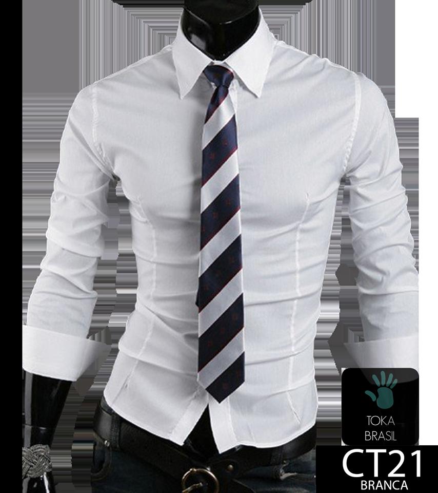66d9c436e8 Camisa Social Slim fit Mod. CT021B – TOKA BRASIL