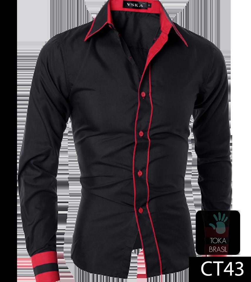 850b36af52 Camisa Social Slim fit Mod. CT043 – TOKA BRASIL