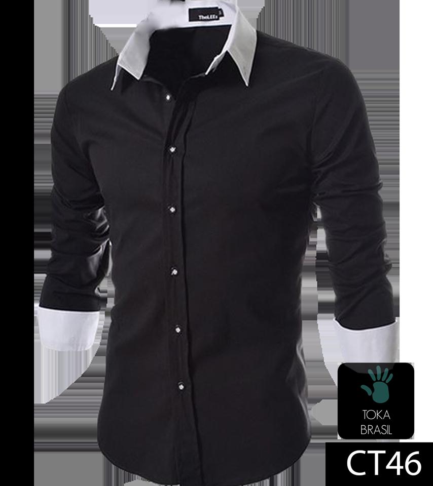 0ad2ab8b42 Camisa Social Slim fit Mod. CT046 – TOKA BRASIL