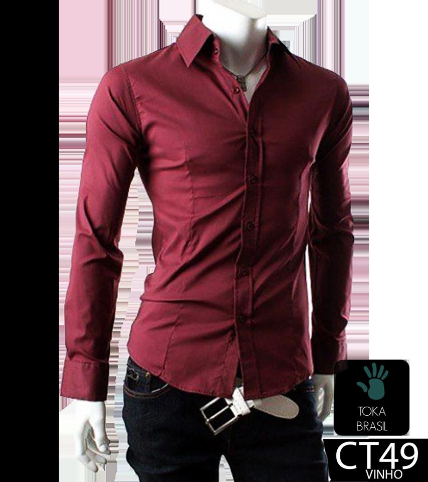 4be2820dce Camisa Social Slim fit Mod. CT049V – TOKA BRASIL
